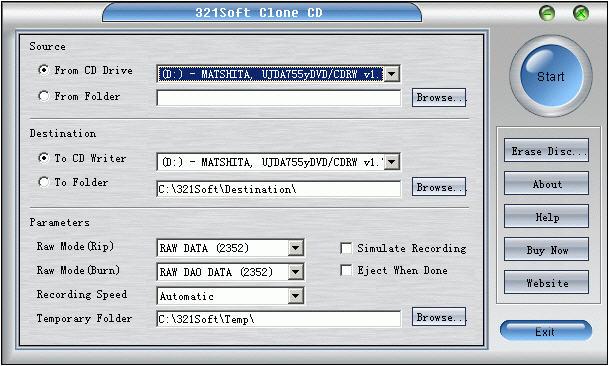Дисковые утилиты. clone cd 5.3, скачать клон CD, программа clone c