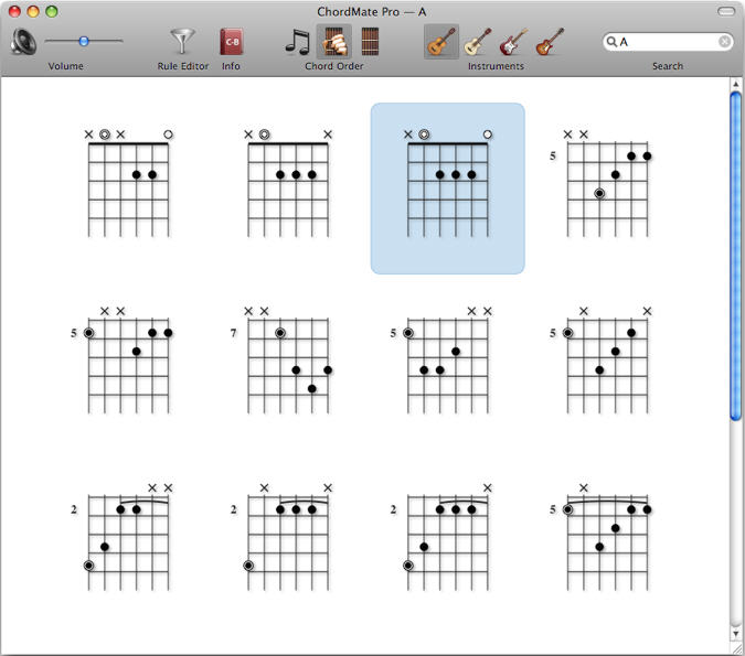 Chordmate pro can find and arrange chords into chord progressions screenshot view screenshot ccuart Gallery