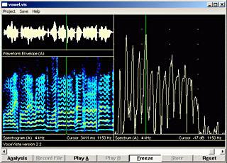 VoceVista - Audio analysis and comparison of the audio ...