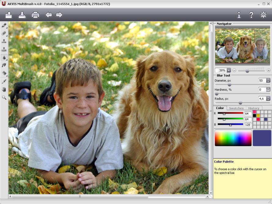 AKVIS MultiBrush 4.1 PlugIn and Standalone for Mac