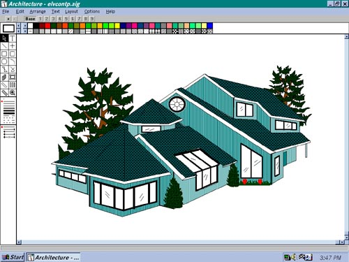 Design Your Own Home Architecture Is A Tool Driven Drawing Program For Mac