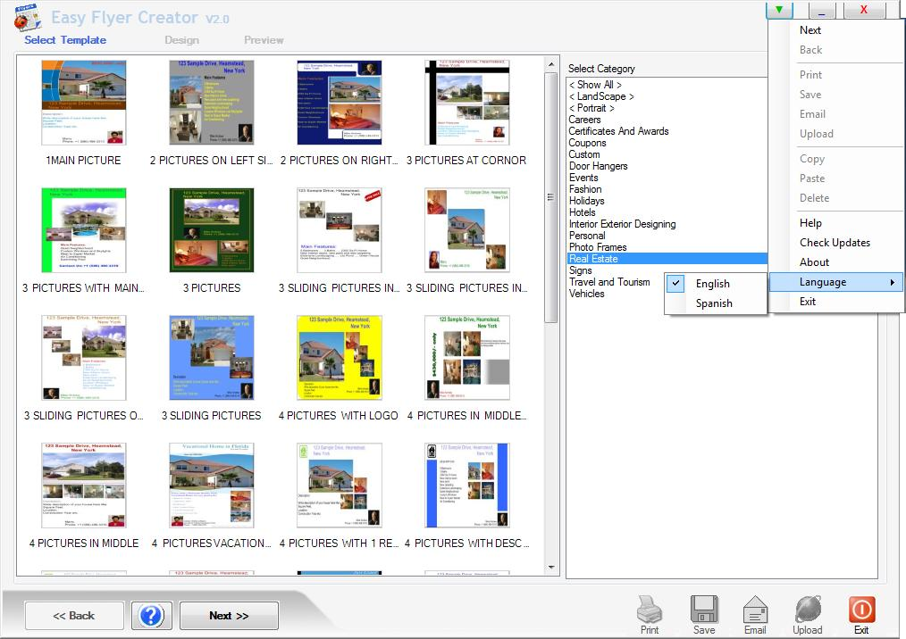 easy flyer creator is a desktop publishing software