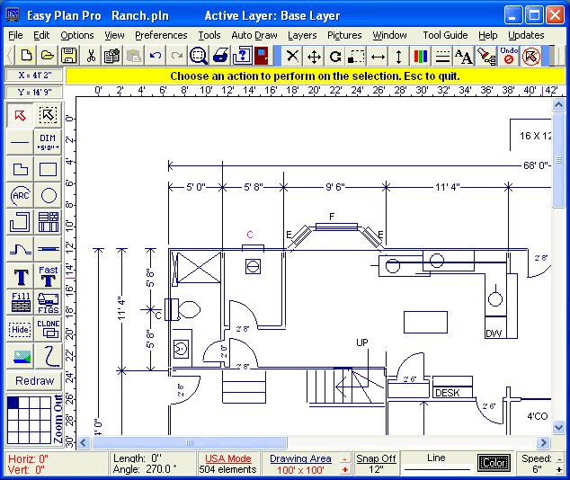 Easy plan pro designed to draw good quality for Best free drawing programs