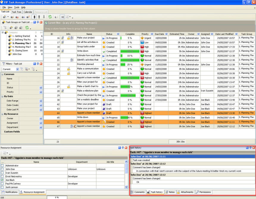 Vip Task Manager Pro Is A Task Management Software