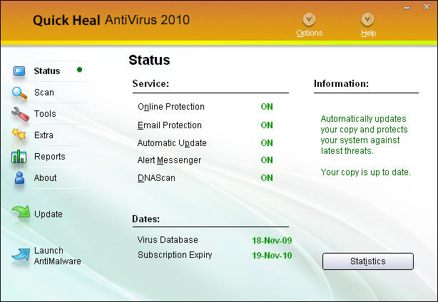 Quick Heal AntiVirus 2010 11.0 full