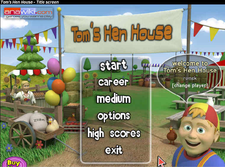 Toms Hen House Pogo Games HoneyB[SeCtIoN8] preview 0