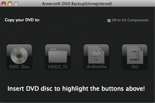 How to backup D9 and D5 DVD movies on Mac OS X
