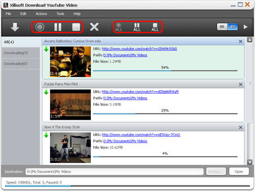 Part 2: Download YouTube videos with the built-in YouTube Video Browser