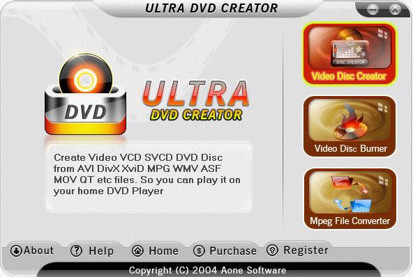 Aone Ultra DVD Creator 2.8.0526