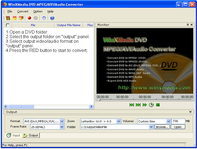 Convert Video to MPEG with Movavi