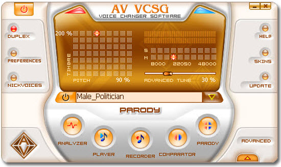 7.0.56. Скачать AV Voice Changer Software Gold 7.0.56. Платформа. Дата ре