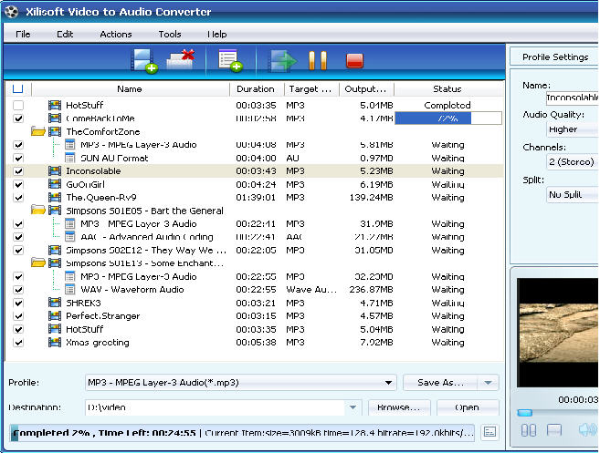 Xilisoft Video to audio converter v3.1.8.0811 full with Keygen.