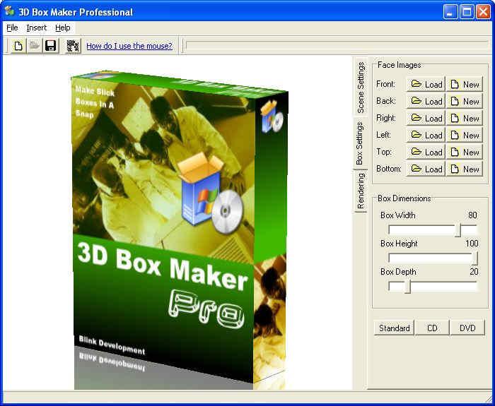 3d box maker professional create box shot images