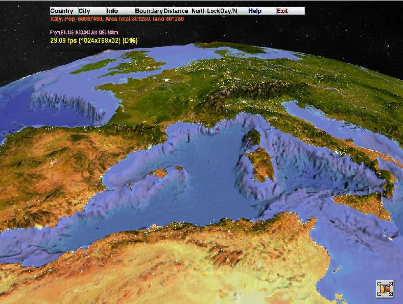 برنامج تعرف على العالم بشكل تفصيلى WORLD MAPS