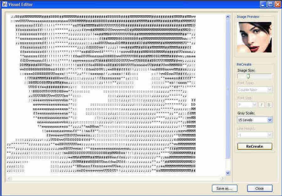ASCII Art Generator v3.2.2 retail