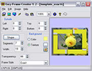 Frame Creator software