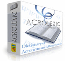 AcroLexic Personal License