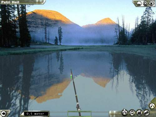 Petri heil gold online is new fishing simulator with for Online fishing tournament