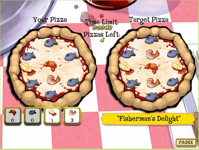 Pizza Frenzy Game Download