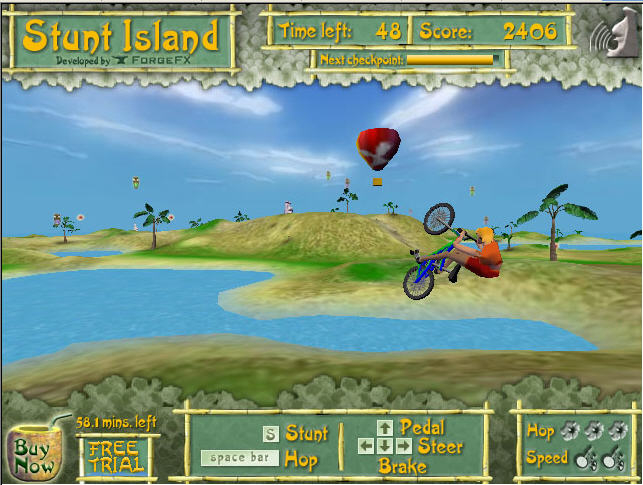 Bikeisland More Screenshots Click each