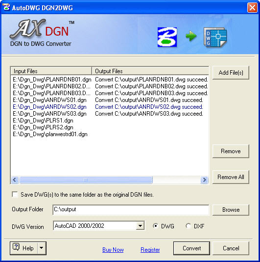 DWG Converter and Raster to Vector Converter software