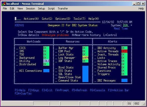 Nexus Terminal is a telnet 3270/5250/VT/ANSI terminal and printer