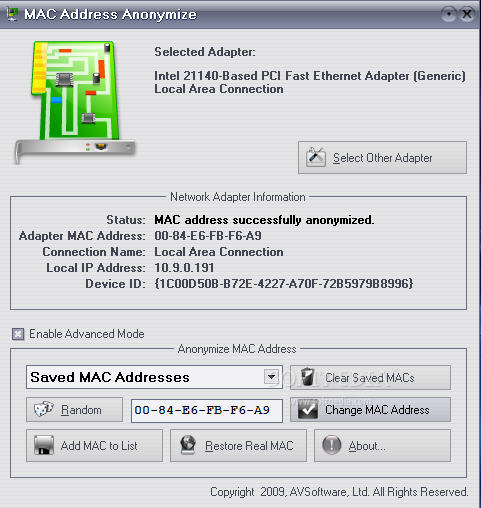 Anonymize Your Mac Address And Be Invisible To Hackers